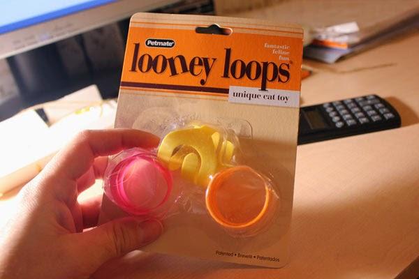 игрушка для кошек Petmate Looney loops