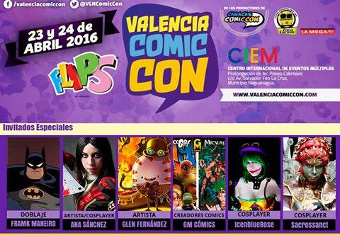 Valencia Comic Con 2016