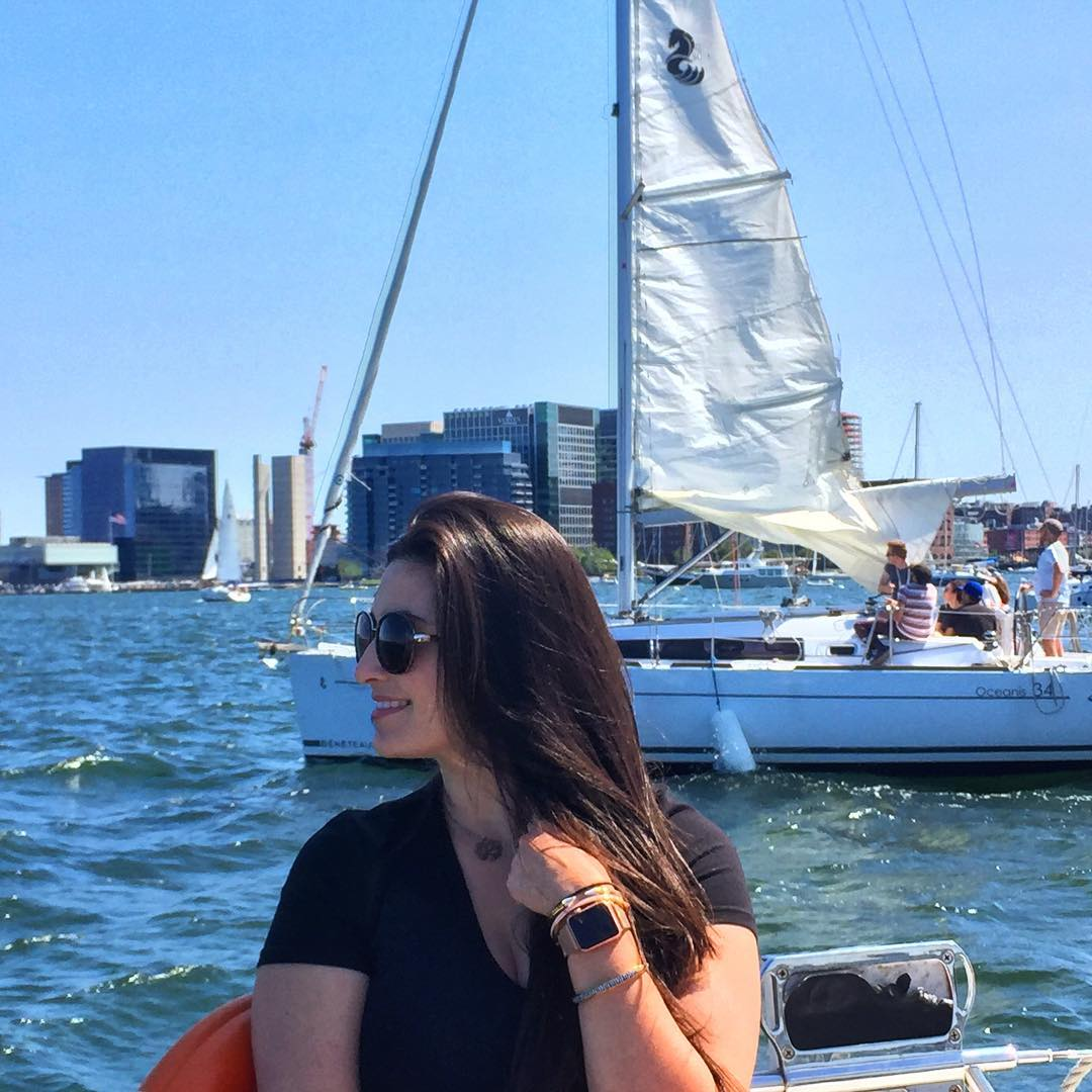 Boston Harbor Sailing