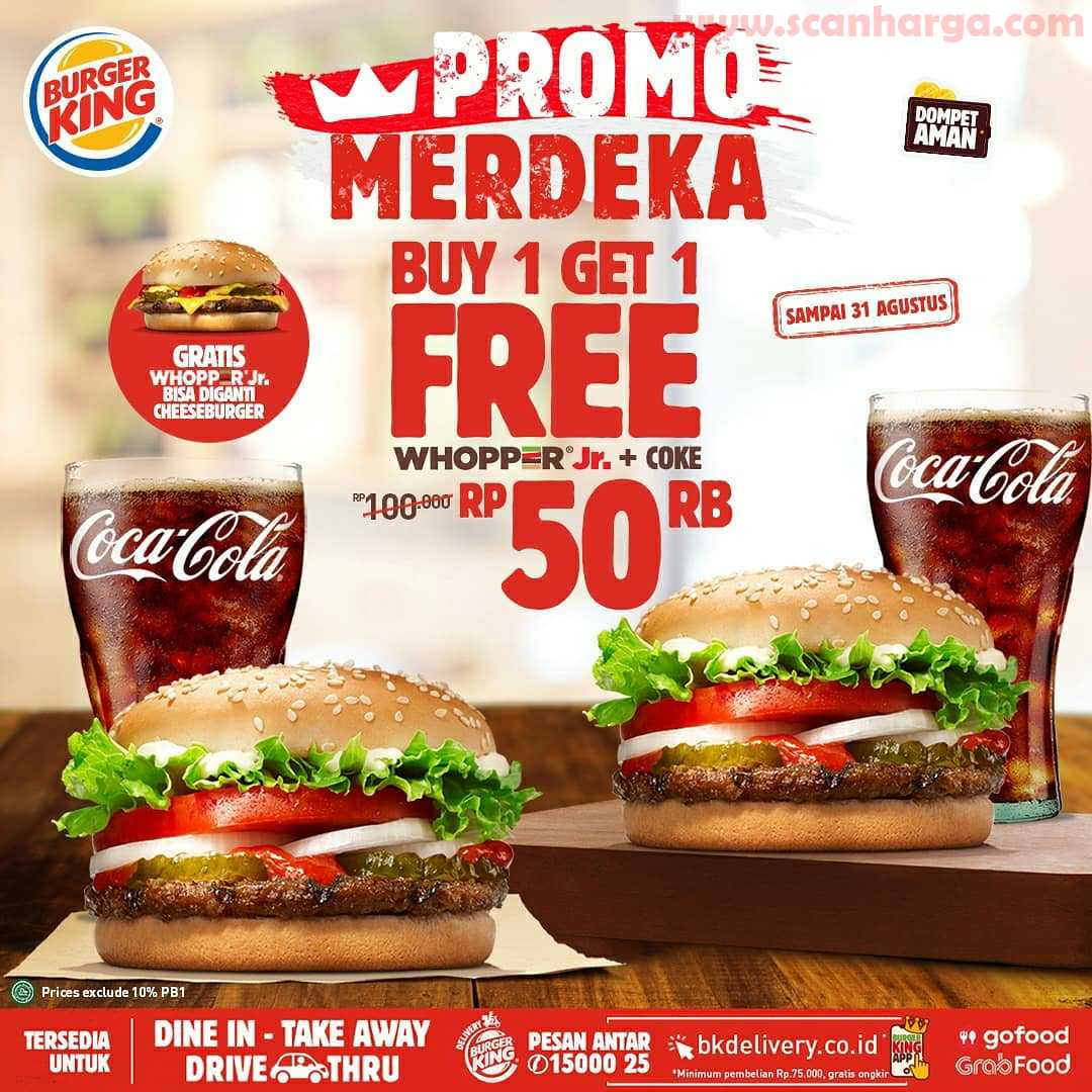 Burger King Promo Merdeka Periode 13 - 31 Agustus 2020 3
