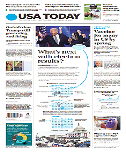 USA Today Magazine 19 November 2020 | USA Today News | Free PDF Download