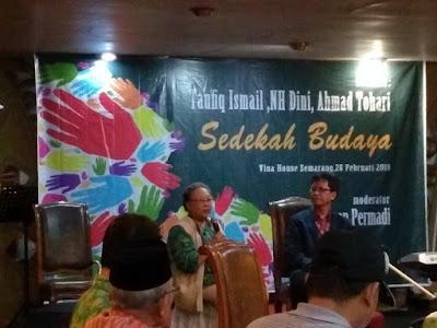 Sedekah Budaya NH Dini Semarang