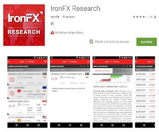 Ulasan Lengkap tentang Aplikasi IronFX Research Di Android