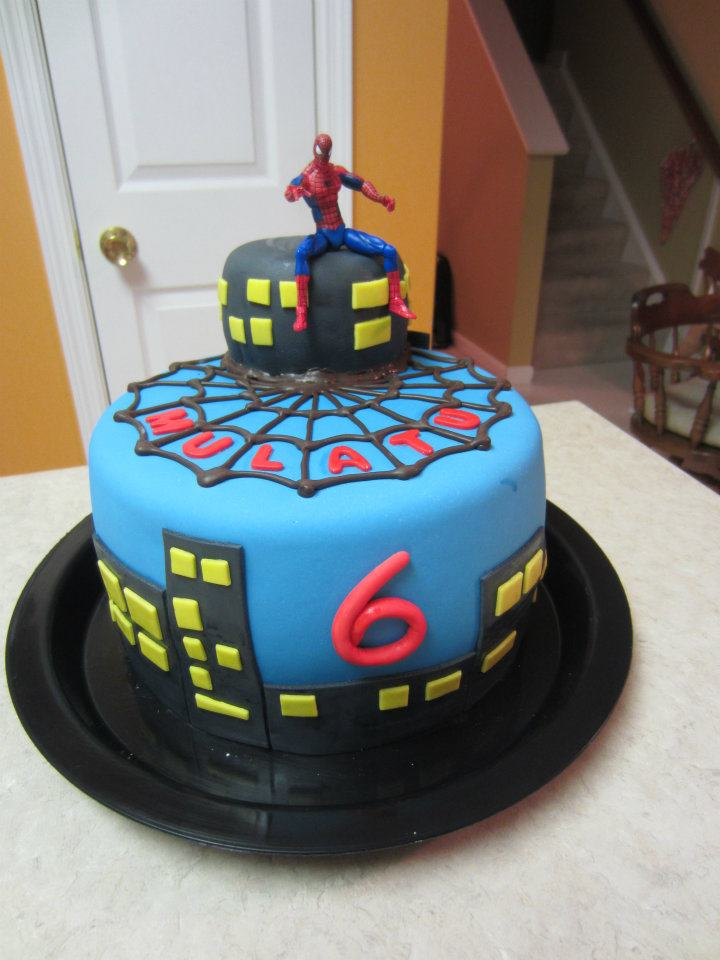 Treats By Christi Spiderman Cakes