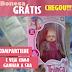 Brindes Grátis Recebido - Boneca Meninas de Trança