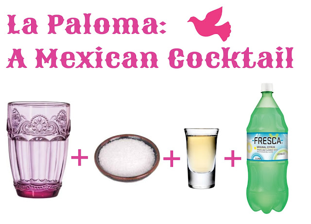 la paloma mexican cocktail tequila