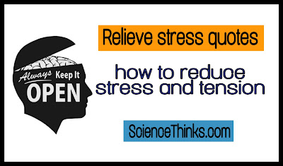 relieve stress quotes