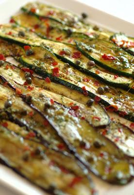Zucchine e melanzane per antipasto