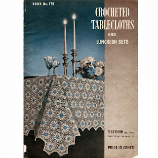 Crocheted Tablecloth Pattern Book, SPC 279