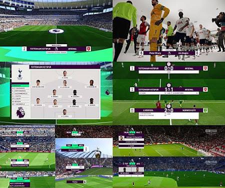 PES 2020 English Premier League Scoreboard