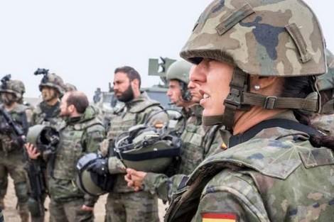 شابة إسبانية تصبح أول امرأة جنرال في الجيش