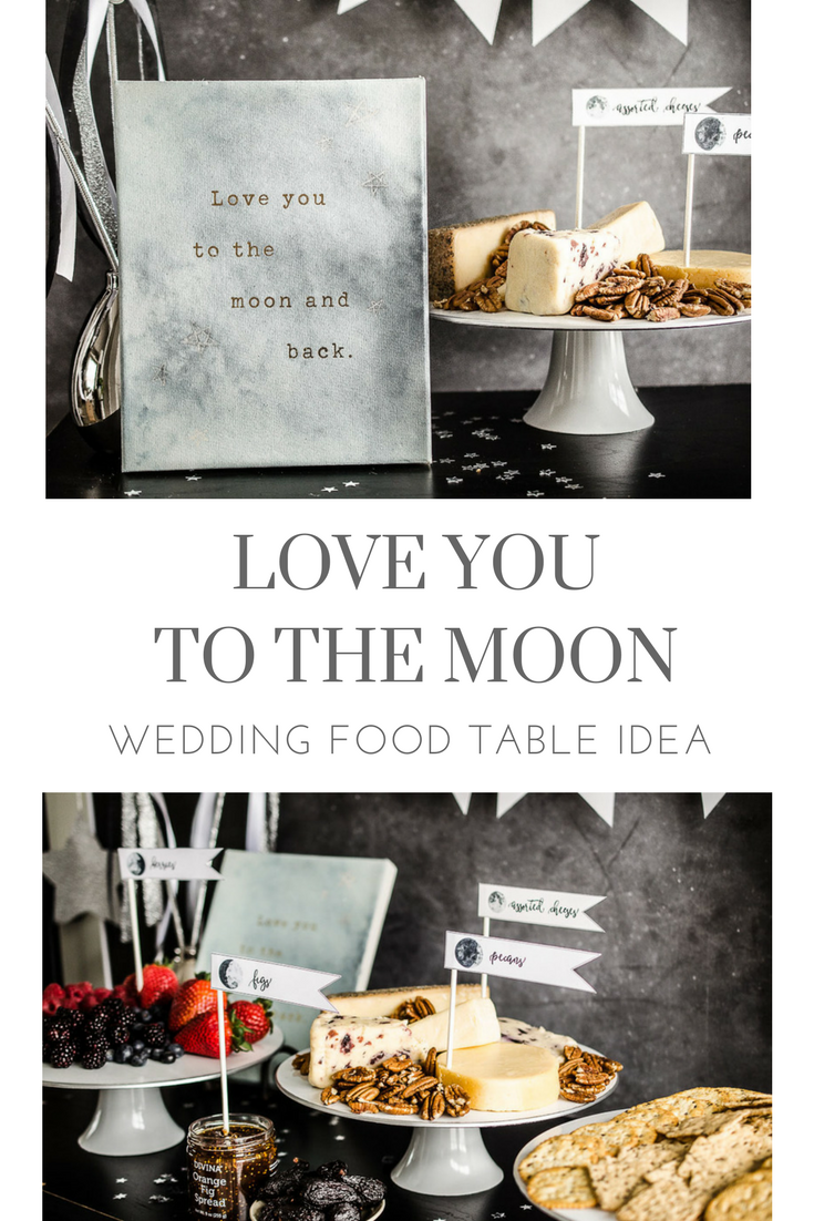 Love you to the moon wedding