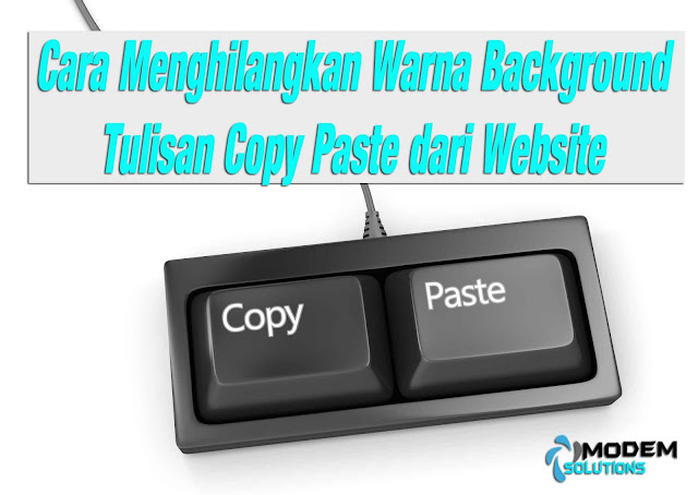 Cara Menghilangkan Background Berwarna, Hasil Copy-Paste di Microsoft Word