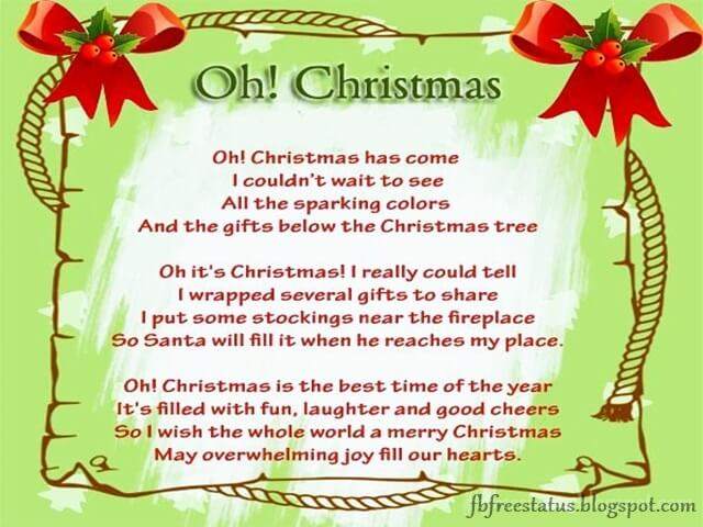 Christmas Poems-merry christmas poetry