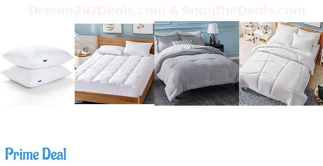 35% OFF  Mattress Pad or 3 Piece Comforter Set