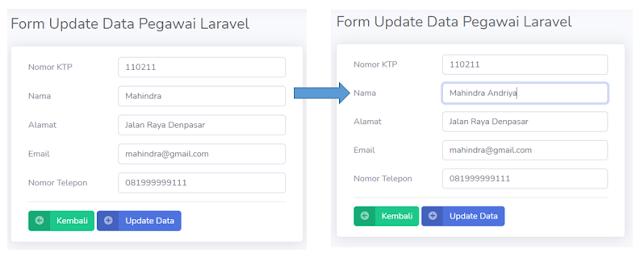 CRUD Data Pegawai dengan Laravel (DELETE dan EDIT DATA)