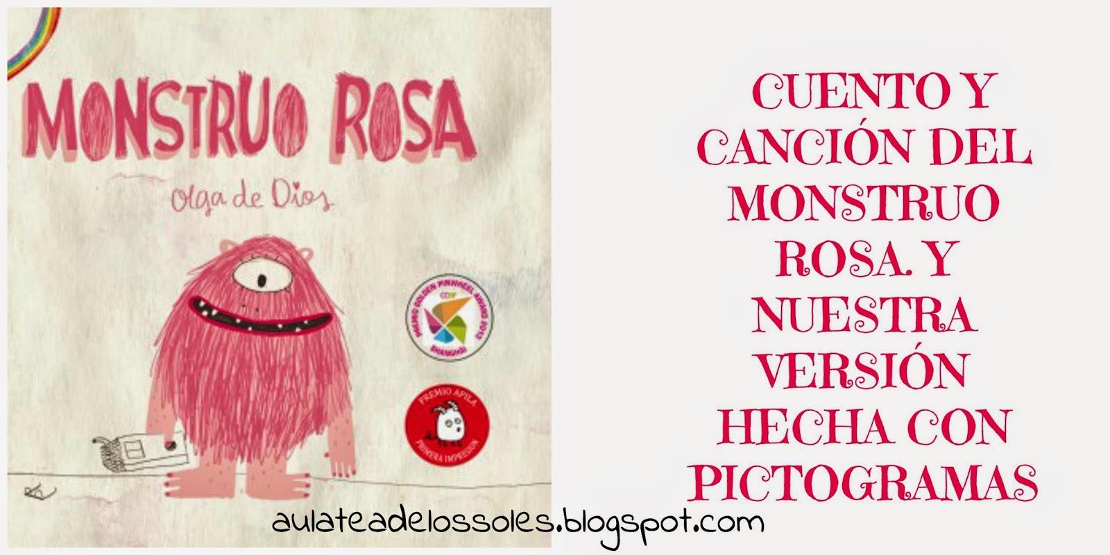 El Aula De Los Soles Un Aula Libre De Fichas Y Libros De Texto Para Niños Con Tea El Cuento Y La Canción Del Monstruo Rosa