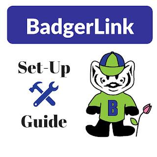 BadgerLink set-up guide image
