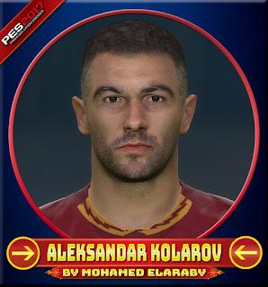 PES 2017 Faces Alexander Kolarov by M.Elaraby
