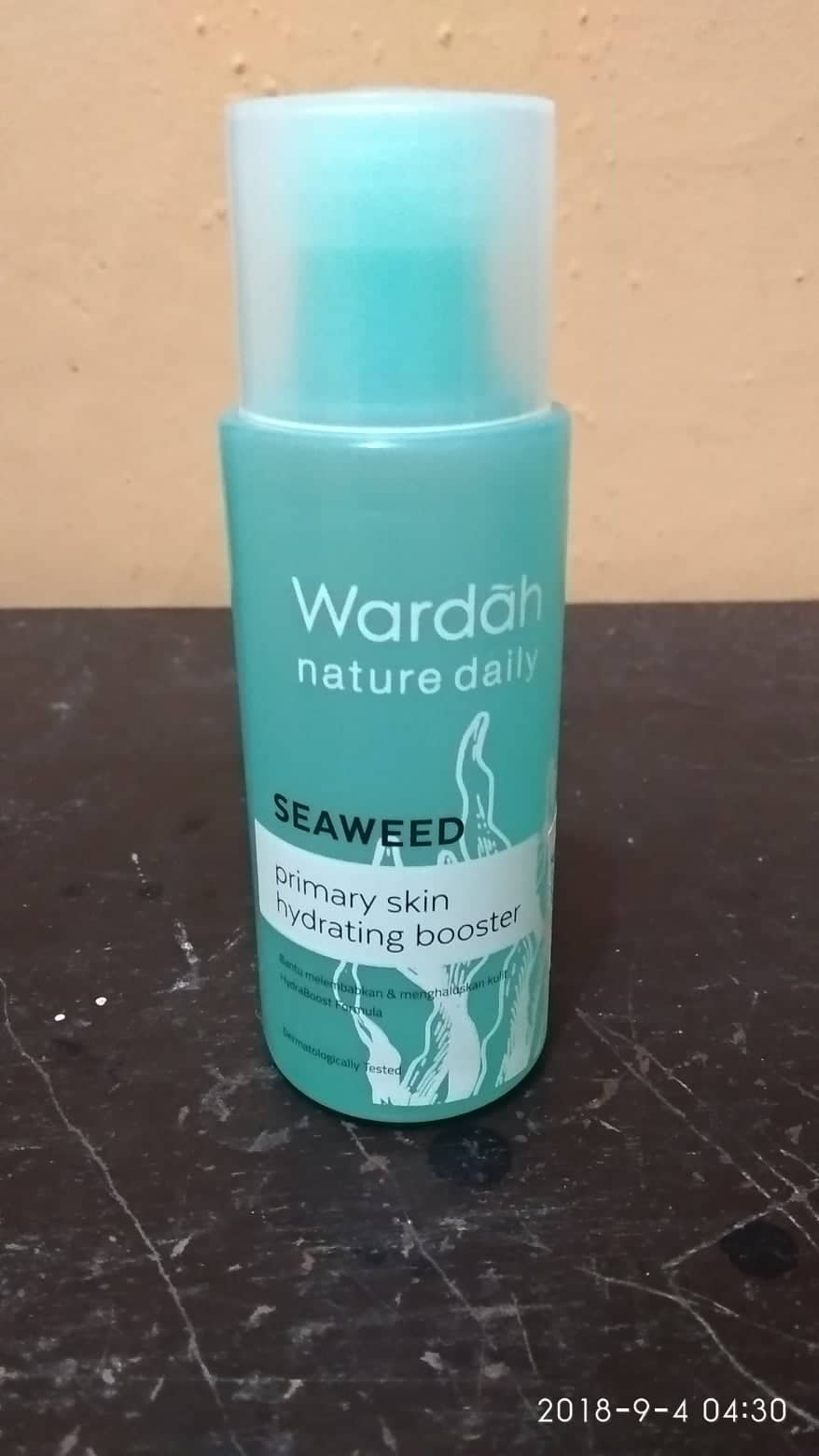 Review WARDAH Nature Daily Seaweed Primary Skin Hydrating