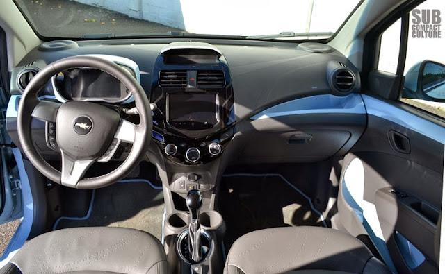 Chevrolet Spark EV interior