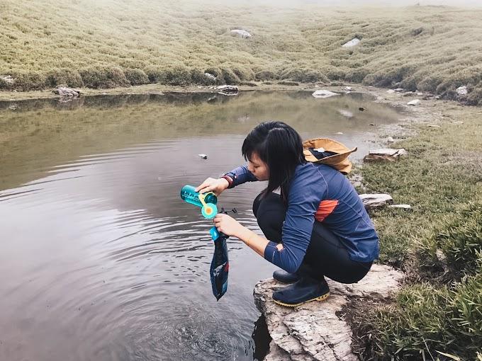 【野女孩裝備】縱走必備!! Sawyer濾水器、 淺談野外水源中有害物質