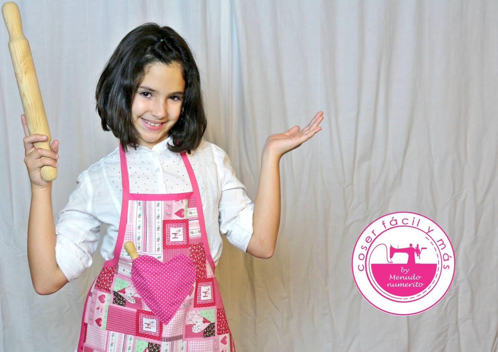 Cómo hacer un delantal para niña - El blog de Coser fácil y más by ...