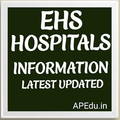 EHS HOSPITALS INFORMATION Latest updated