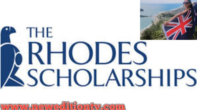 The Rhodes Scholarships for New Zealand