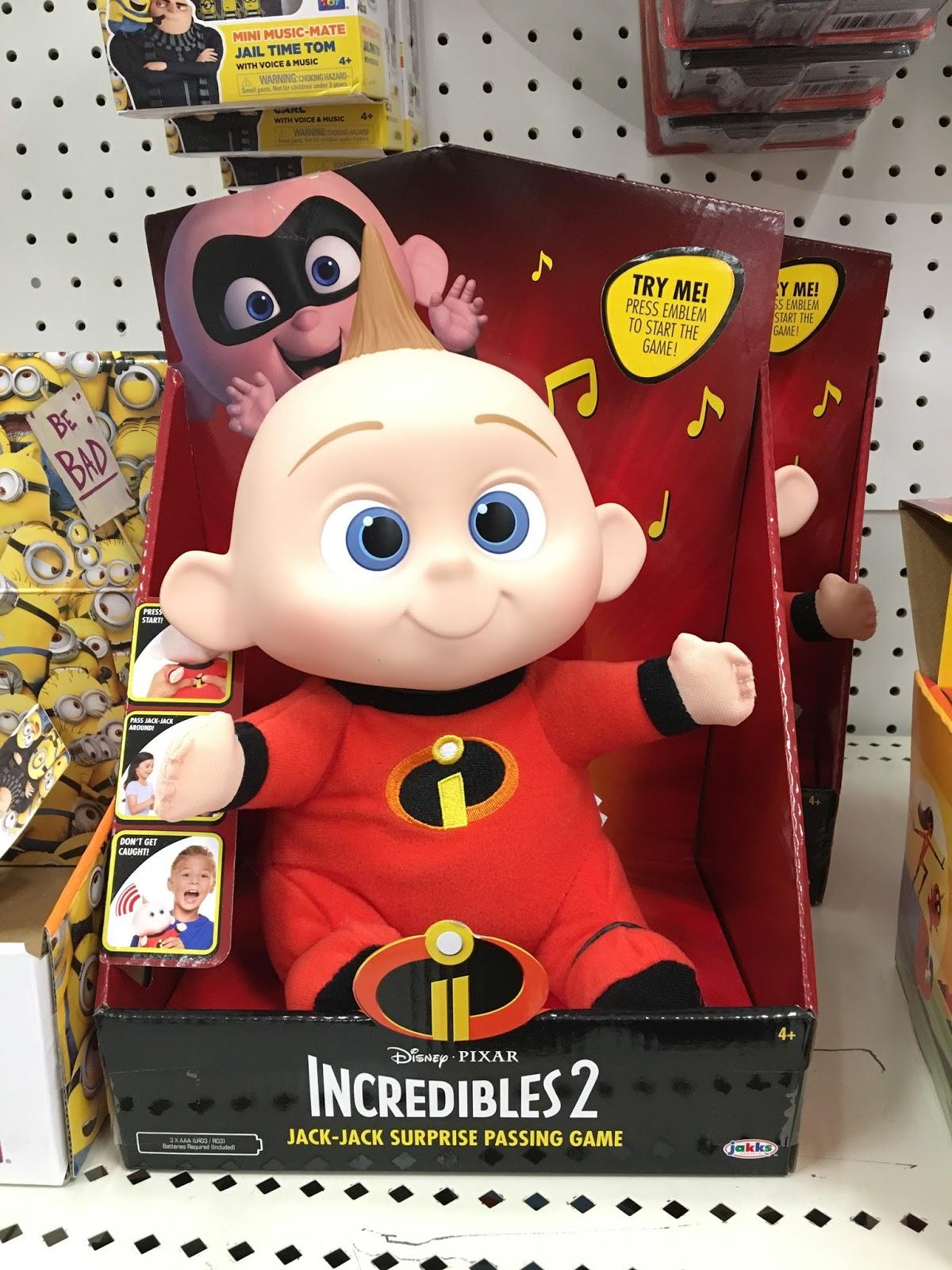 Dan The Pixar Fan Jakks Pacific Incredibles 2 Toys