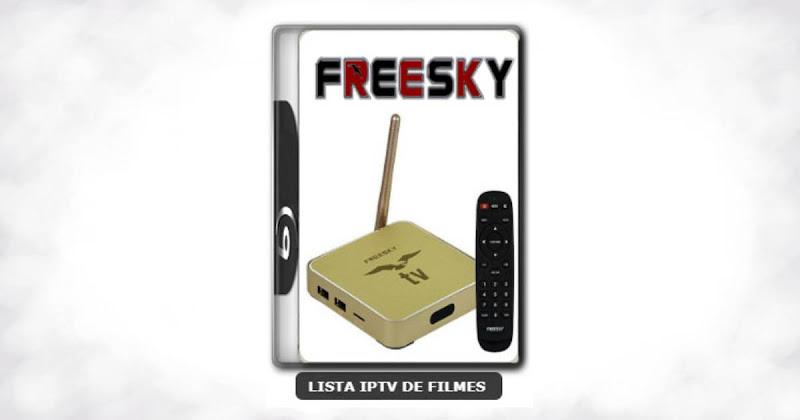 Freesky OTT Stream Nova Atualização USB V2.0.3.42 Melhorias no IPTV e VOD