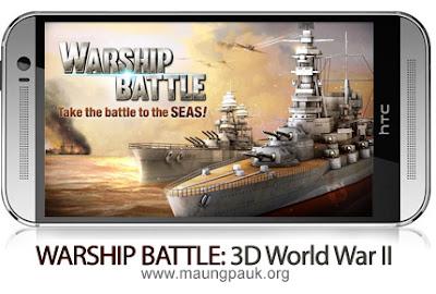 WARSHIP BATTLE: 3D World War II v1.3.0 for Android