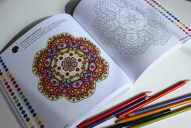 coloring page of the foolproof color workbook