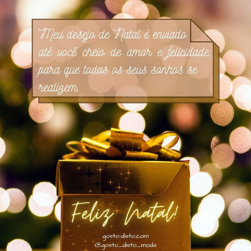 Cartão de Natal do Blog Gosto Disto