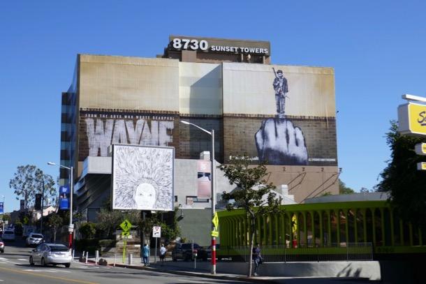 Wayne series premiere billboard
