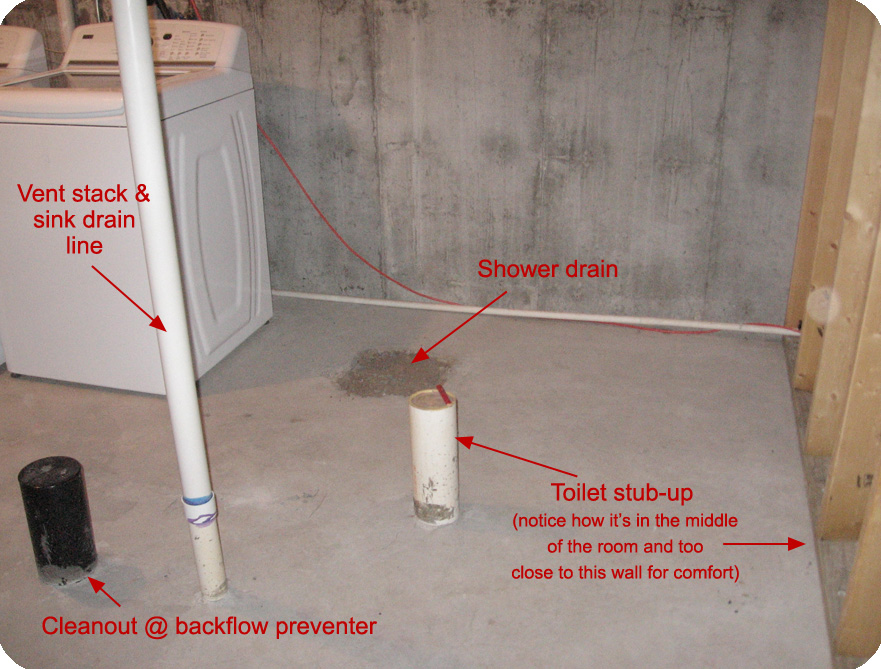 toilet vent plumbing diagram freightliner jake brake wiring little house on the corner: bring concrete!