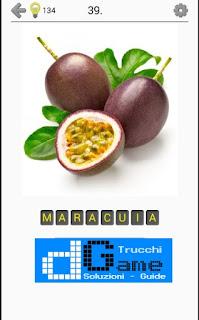 Soluzioni Frutti, verdure e noce livello 39
