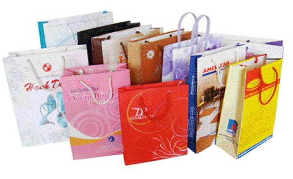 In túi giấy cho shop giá rẻ