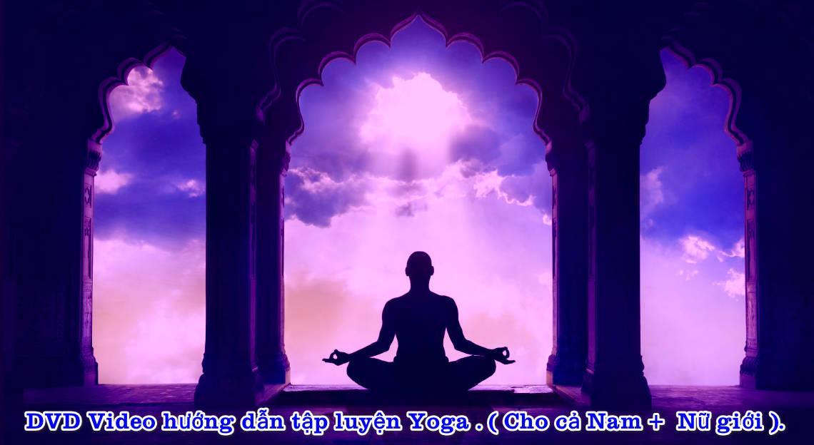 DVD Video hướng dẫn tập luyện Yoga . ( Cho cả Nam và Nữ giới ).
