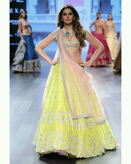 Nargis Fakhri at Lakme Fashion Week 2017