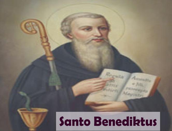 mukjizat doa kepada santo benediktus