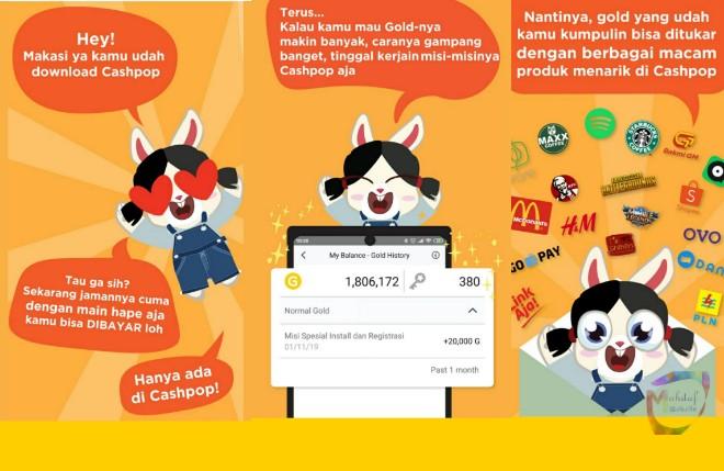 Aplikasi penghasil uang 2020