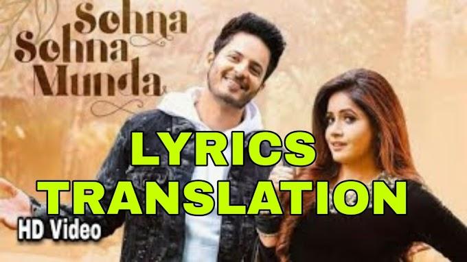 Sohna Sohna Munda Lyrics | Translation | in English/Hindi  - Miss Pooja