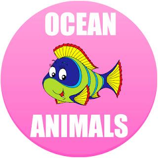 ocean animals list