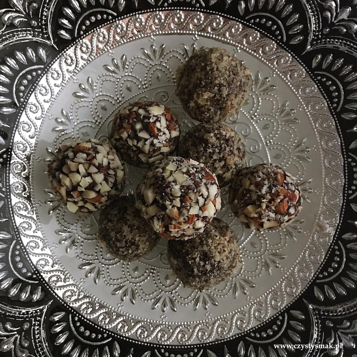 Bajecznie czekoladowe trufle z orzechami