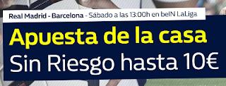 william hill promocion Real Madrid vs Barcelona 23 diciembre
