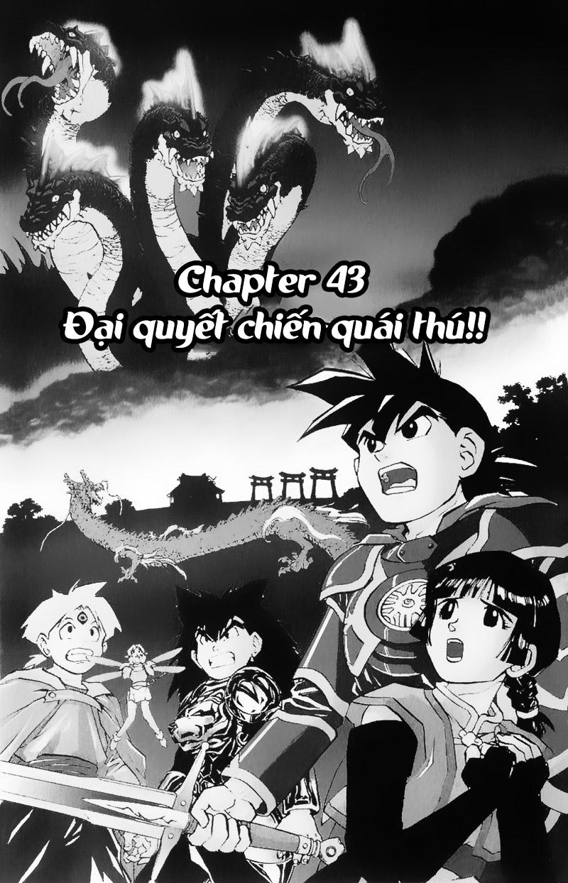 Dragon Quest: Emblem of Roto chapter 43 trang 1