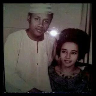 image result for Maryam Abacha and Sani Abacha