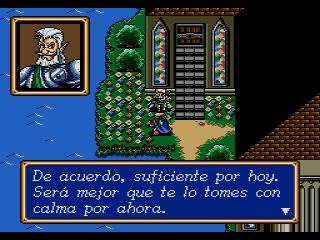 shining force traducido al castellano