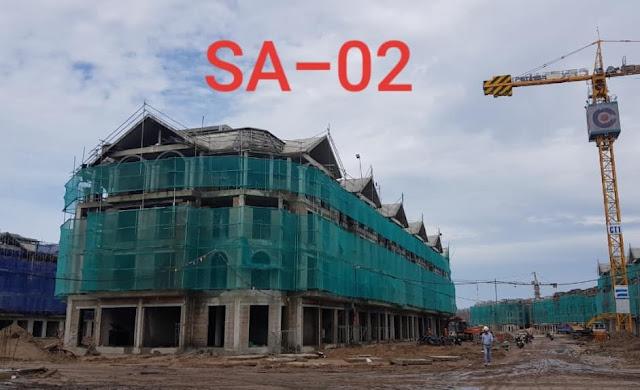 tiến độ shop indochine tháng 8 năm 2019